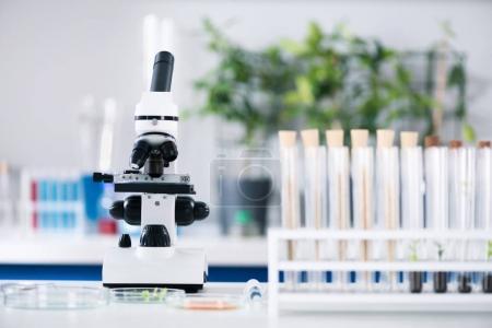 Scientific tools at laboratory