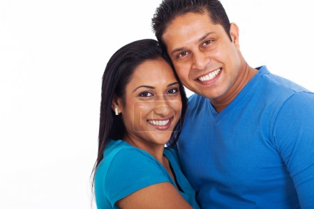 young indian couple